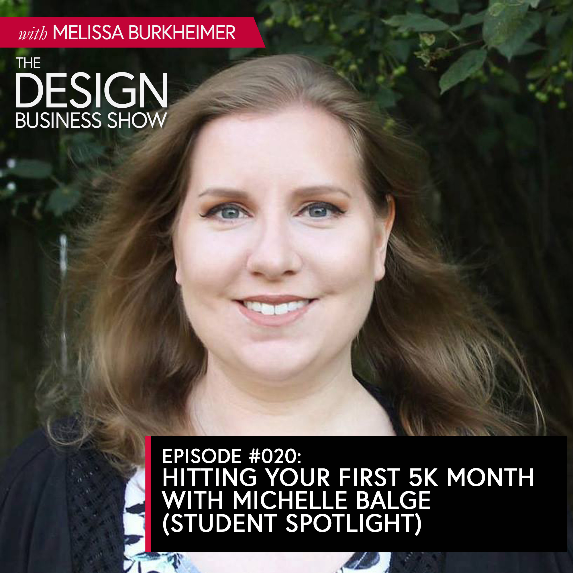 Listen to episode 20 of The Design Business Show with one of my favorite students, Michelle Balge, about the growth of her design business.