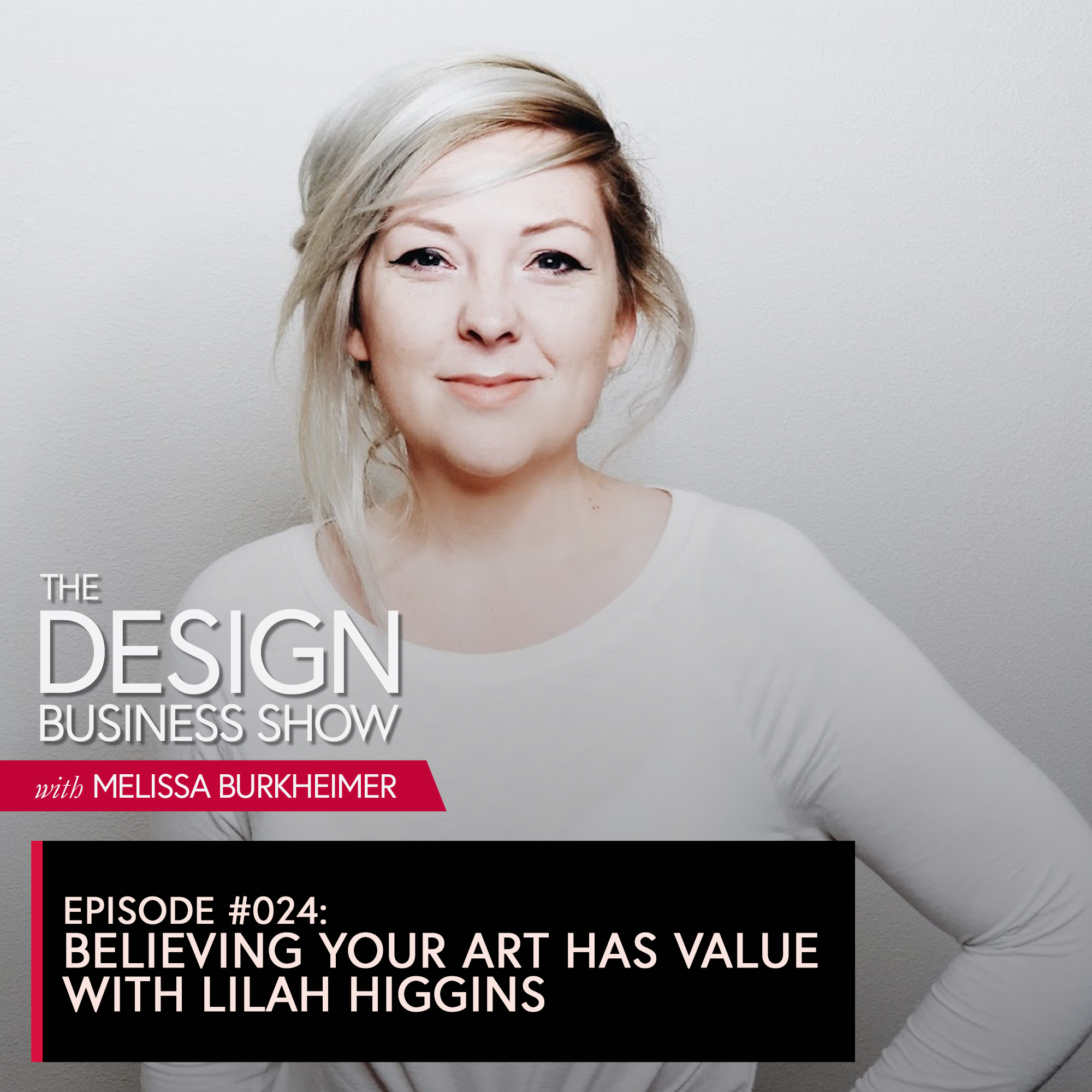 Join me for episode 23 of The Design Business Show with Lilah Higgins, creative genius over at The Higgins Creative about believing your art has value, tapping into your own strengths in your offers, and why strategy matters.