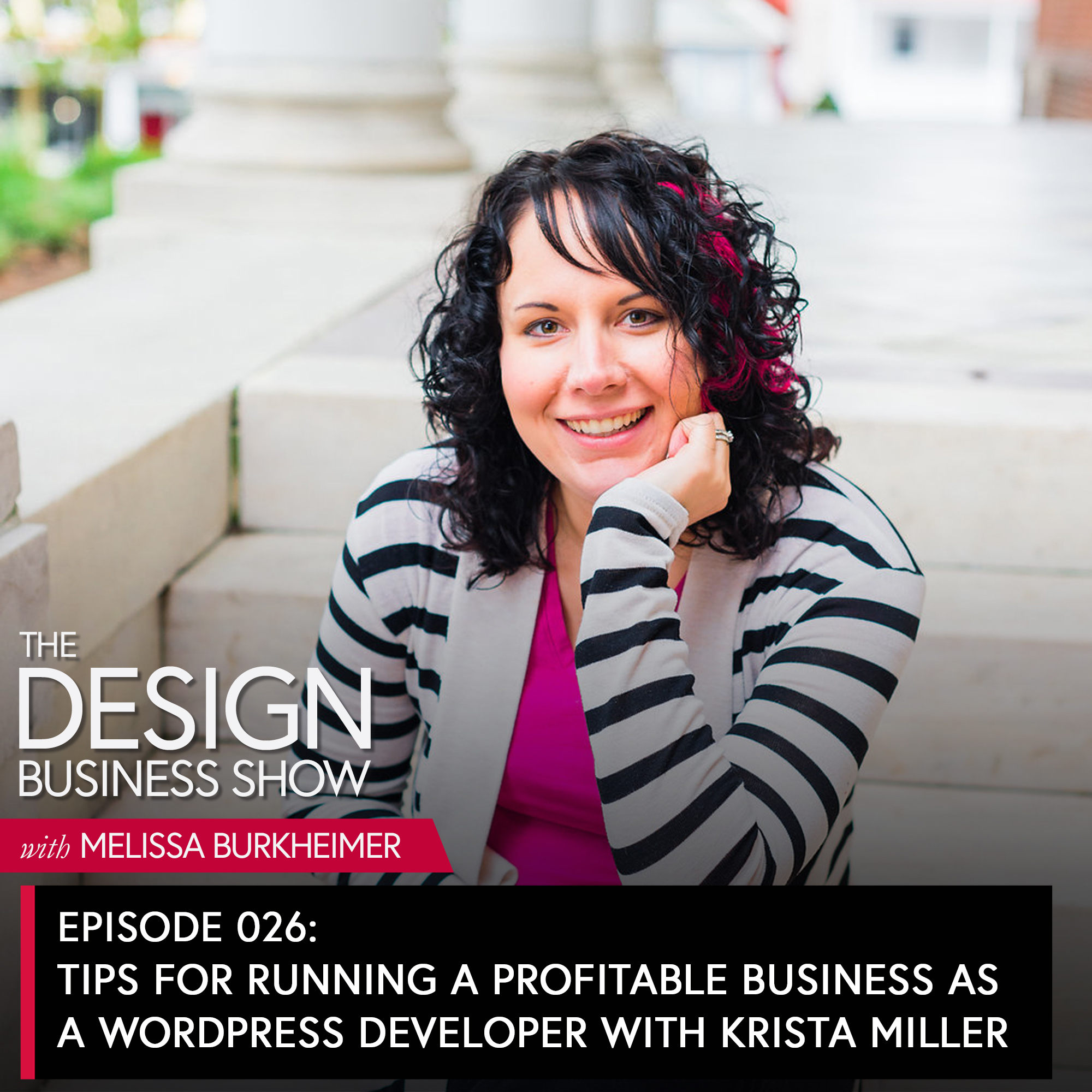 Join me for episode 26 of The Design Business Show with Krista Miller, one of my most recommended WordPress developers about her project processes, and how she helps designers save more time.