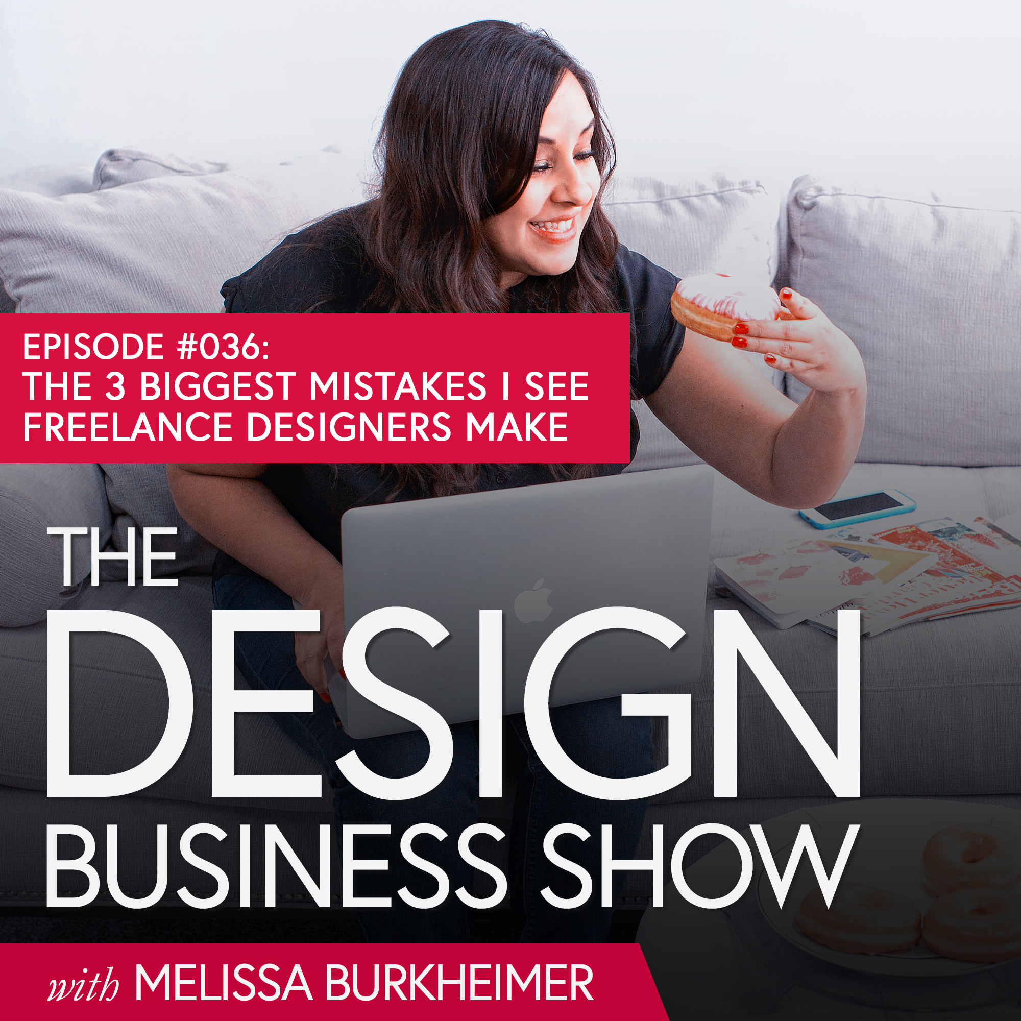 We're changing things up today on The Design Business Show – and I'm back for a solo show to talk about the 3 biggest mistakes I see freelance designers make in their business and how to solve them!