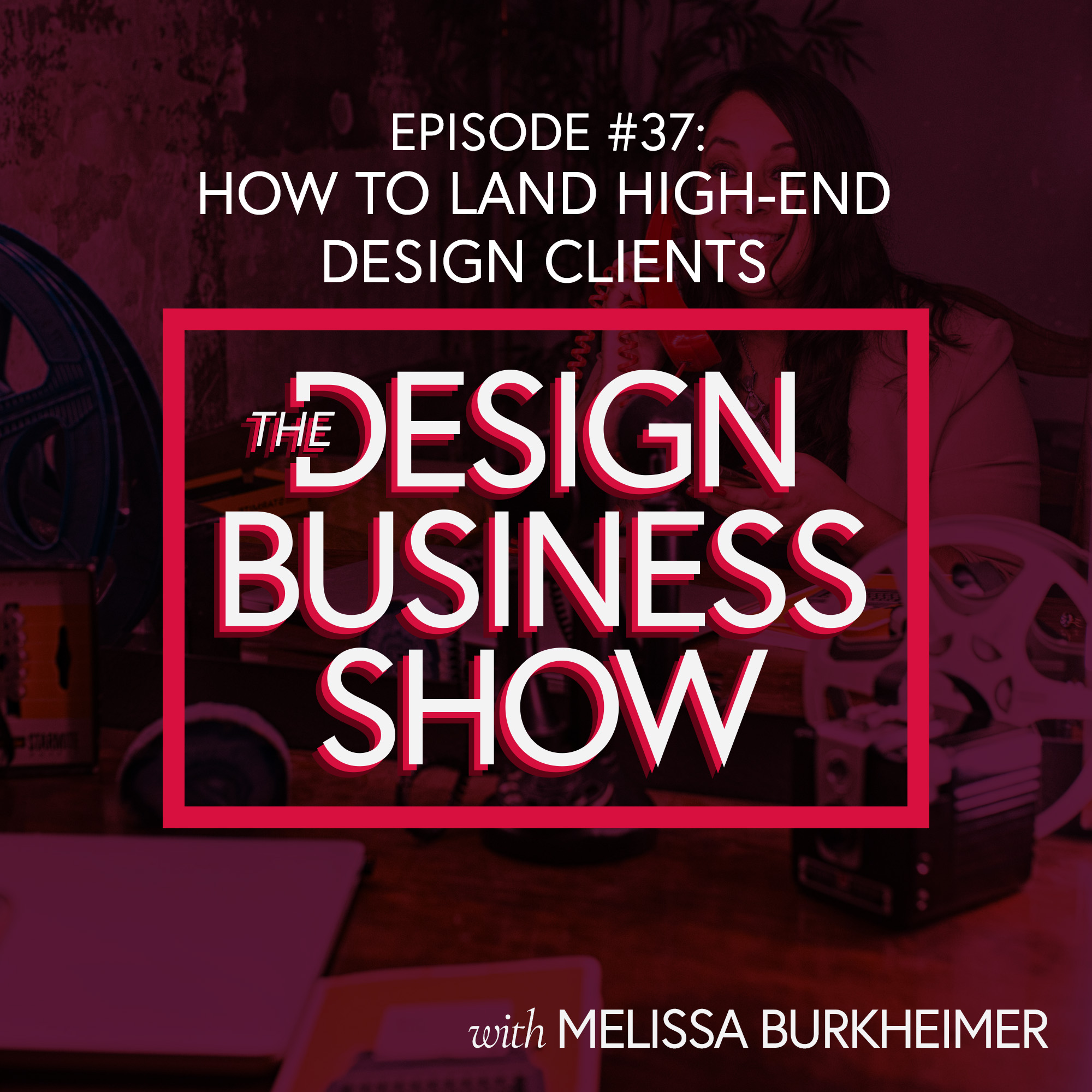 How can designers get high-end clients?
