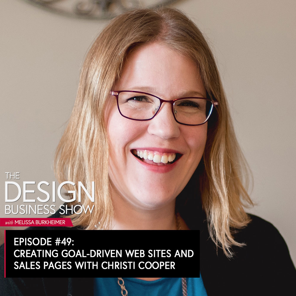 Christi Cooper is the principal designer and creative strategist at Cooper & Heart Creative and brings 19+ years of design-industry experience to the table. She works with heart-centered business owners to help them grow their businesses through beautiful, strategic sales pages and websites that connect with their people in an impactful way.
