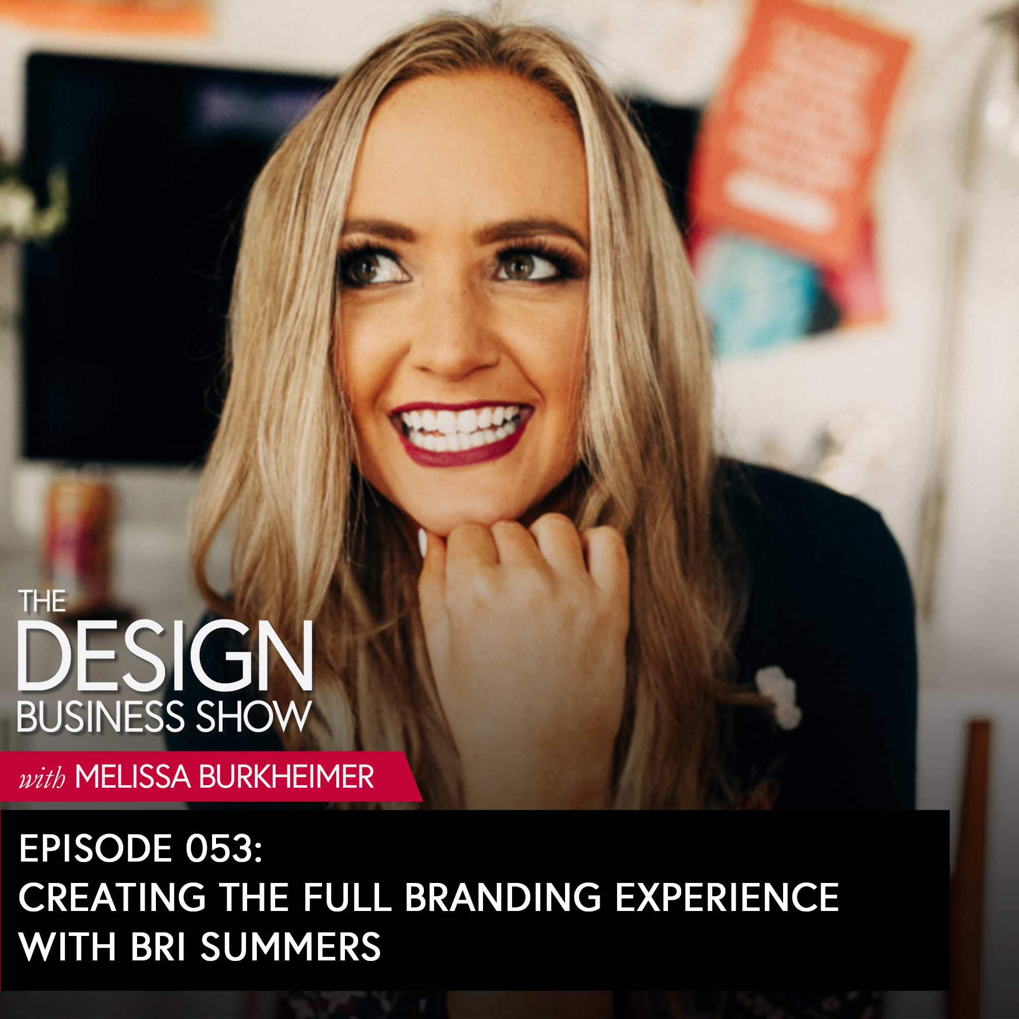 Check out episode 53 of The Design Business Show with Bri Summers from Brighten Made to get tips on using Pinterest + Instagram to promote your design business, how to create the full branding experience and more.