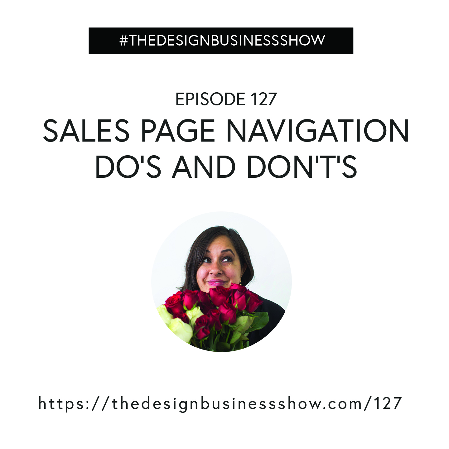 Check out episode 127 of The Design Business Show to learn sales page navigation do's and don'ts!