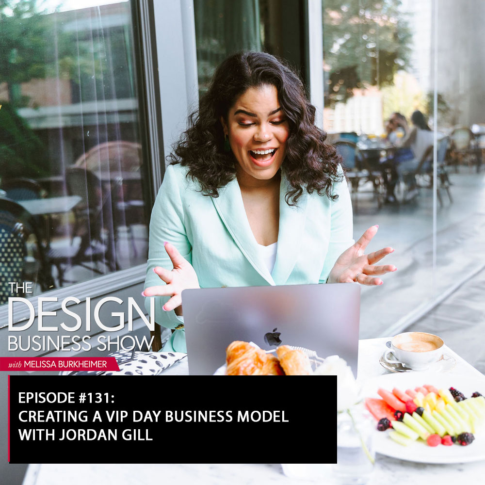 Check out episode 131 of The Design Business Show with Jordan Gill to learn all about how you could use VIP Days in your business!
