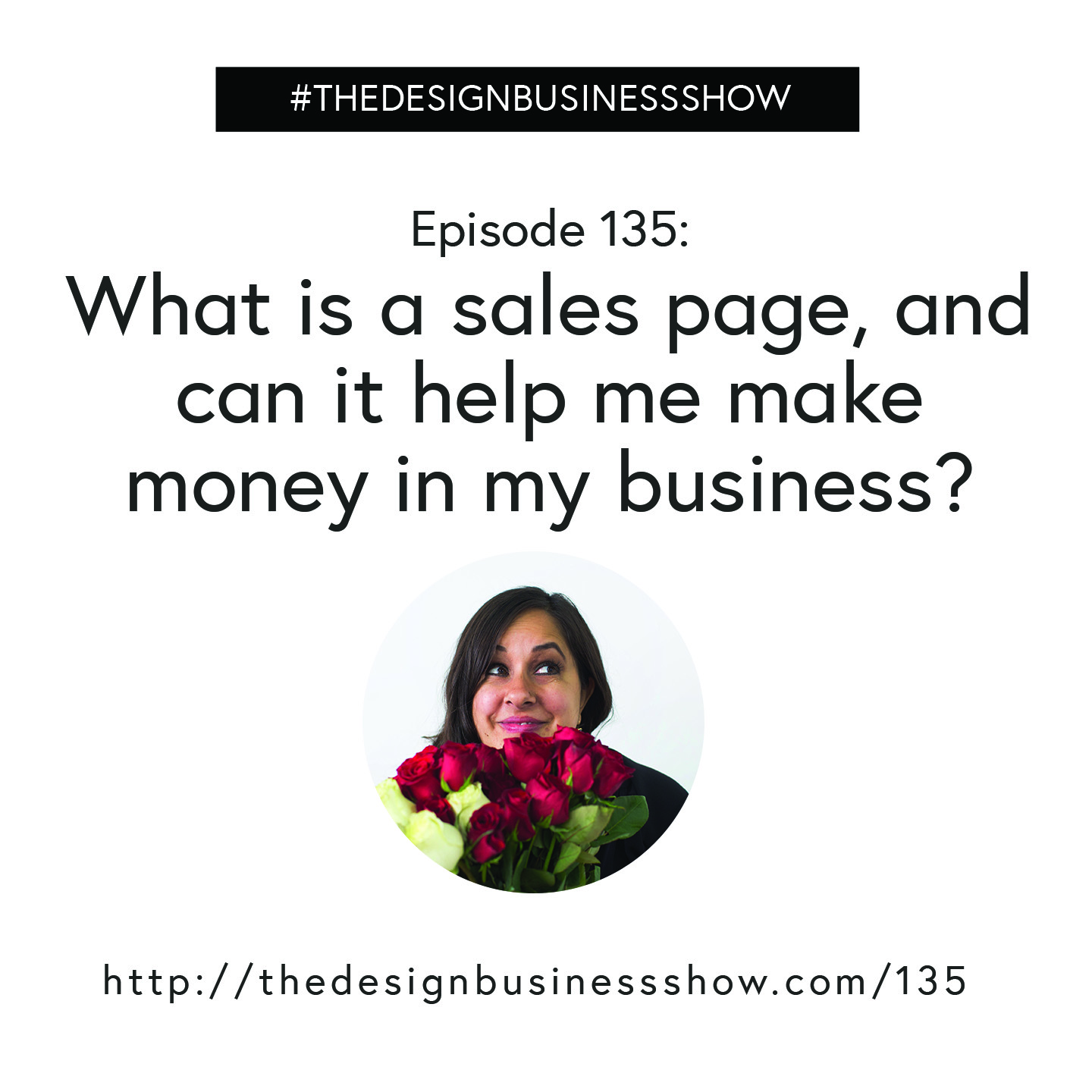 Check out episode 135 of The Design Business Show to learn how you can make money with a sales page!